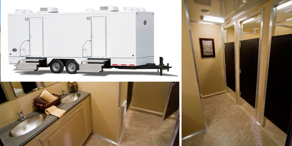 See Interior of Mobile Restroom/Shower Stall Trailer Rentals in Texas, Florida, Massachusetts, New Jersey, Illinois, Georgia, North Carolina, South Carolina, New Jersey and New York City (Queens, Bronx, Manhattan)