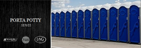 High Traffic Porta  Potties in New York City, New York (NY).