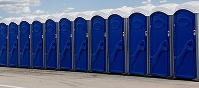 Discount for Bulk Porta Potty Rentals when high volume/capacity is expected for large crowds of people.