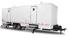 Wedding Restroom Trailer Rentals in Lowell, Massachusetts.