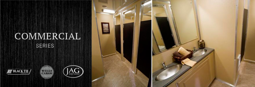 North Miami Mobile Bathroom Trailer Rentals in North Miami, Florida.