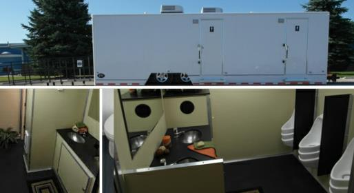ADA Compliant Handicap Restroom Trailer Rental in MA, CT, RI, NH, NJ, NY, FL, IL, NC, SC, MD, VA and many other states.